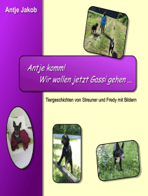 Antje komm mit! Wir wollen jetzt Gassi gehen ...: Tiergeschichten von Streuner und Fredy mit Bildern