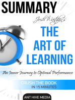 Josh Waitzkin's The Art of Learning