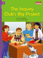The Inquiry Club's Big Project