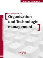 Organisation und Technologiemanagement