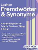Lexikon Fremdwörter Synonyme