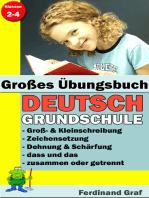 Großes Übungsbuch - Deutsch Grundschule