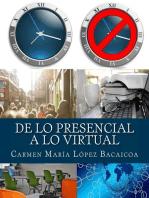 De lo Presencial a lo Virtual