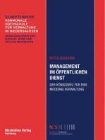 Management im Öffentlichen Dienst