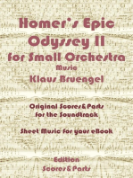 Homer's Epic Odyssey II for Small Orchestra Music