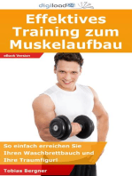 Effektives Training zum Muskelaufbau