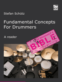 Fundamental Concepts for Drummers: The Knowledge of the Pros. A reader