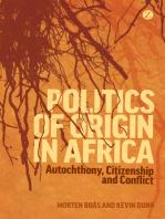 Politics of Origin in Africa