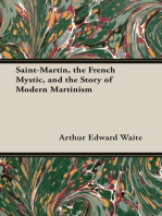 Saint-Martin, the French Mystic, and the Story of Modern Martinism