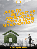 How to Get Out of Foreclosure with a Loan Modification
