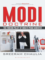 Modi Doctrine: The Foreign Policy of India's Prime Minister