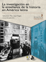 La investigación en la enseñanza de la historia en América latina