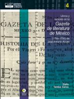 Libros y lectores en la Gazeta de literatura de México (1788-1795) de José Antonio Alzate