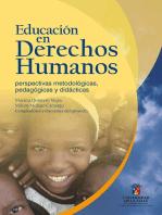 Educación en Derechos Humanos: Perspectivas metodológicas, pedagógicas y didácticas