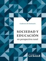 Sociedad y educación en perspectiva rural: Cuadernos de Seminario 2