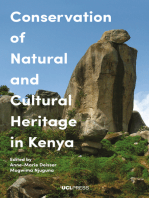 Conservation of Natural and Cultural Heritage in Kenya