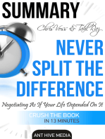 Chris Voss & Tahl Raz's Never Split The Difference