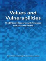 Values and Vulnerabilities