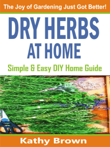 Dry Herbs At Home: Simple and Easy DIY Home Guide