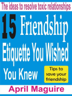 15 Friendship Etiquette You Wished You Knew
