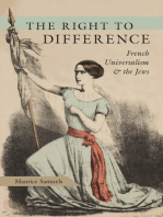 The Right to Difference: French Universalism and the Jews