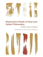 Nietzsche's Death of God and Italian Philosophy