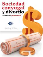 Sociedad conyugal y divorcio