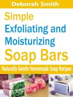 Simple Exfoliating and Moisturizing Soap Bars