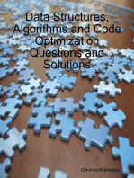 Data Structures, Algorithms and Code Optimization Questions and Solutions