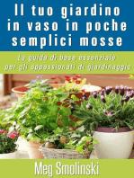 Il tuo giardino in vaso in poche semplici mosse