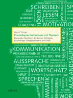 Fremdsprachenlernen mit System