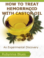 How to Treat Hemorrhoid with Castor Oil