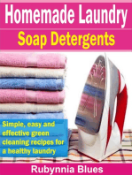 Homemade Laundry Soap Detergents