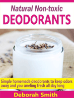 Natural Non-toxic Deodorants