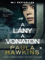 A lány a vonaton - filmes borítóval