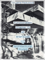 Functionalism. Chapter 15 of Brief Guide to the History of Architectural Styles