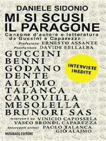 Mi si scusi il paragone: Canzone d'autore e letteratura da Guccini a Caparezza