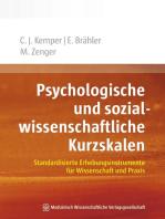 Psychologische und sozialwissenschaftliche Kurzskalen: Standardisierte Erhebungsinstrumente für Wissenschaft und Praxis
