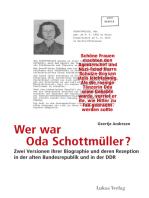Wer war Oda Schottmüller?