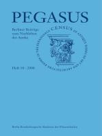 Pegasus / Pegasus 10: Berliner Beiträge zum Nachleben der Antike