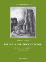 Die Walkenrieder Chronik