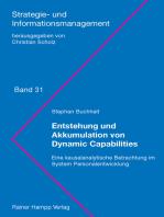 Entstehung und Akkumulation von Dynamic Capabilities