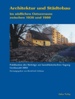 Architektur und Städtebau im südlichen Ostseeraum zwischen 1936 und 1980: Beiträge der kunsthistorischen Tagung in Greifswald 2001