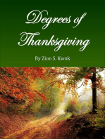 Degrees of Thanksgiving