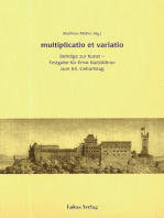 multiplicatio et varatio
