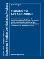 Marketing von Low-Cost-Airlines