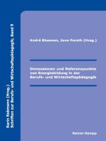 Dimensionen und Referenzpunkte von Energiebildung in der Berufs- und Wirtschaftspädagogik