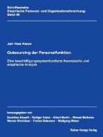 Outsourcing der Personalfunktion