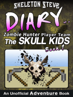 Minecraft Diary of a Zombie Hunter Player Team 'The Skull Kids'
