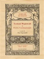 Lezioni Magistrali di Diritto Costituzionale III